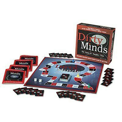 We are getting ready to launch our game on kickstarter. Dirty Minds Master Edition Board Game: The Game of Naughty Clues for 2-8 Players | eBay