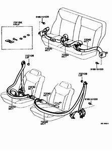 Toyota Corona Crs Kit  Seat  Body  Interior