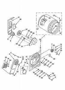 Kenmore 600 Dryer Parts Diagram