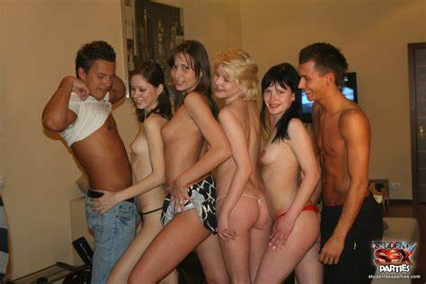 Party Couples Having Sweet Exotic Chicks Rammed Partiessilver Starlets