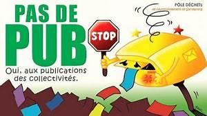 Pas De Pub Merci : autocollant stop pub ~ Dailycaller-alerts.com Idées de Décoration