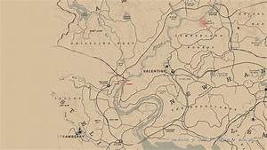 Red Dead Redemption 2 High Stakes Treasure Map Locations