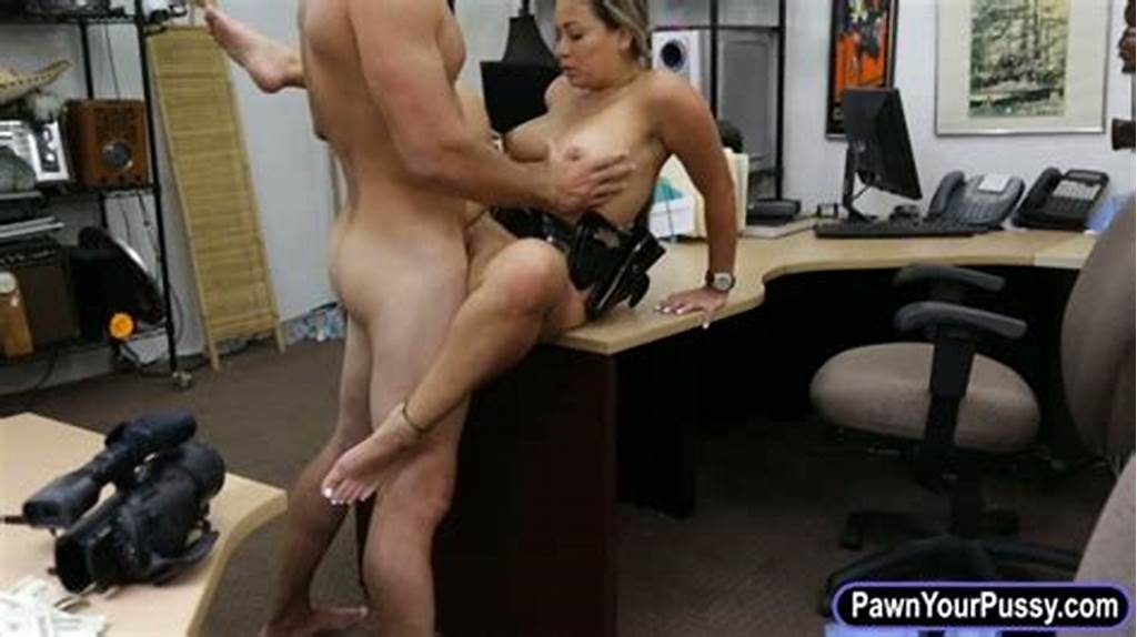 #Ms #Security #Officer #Fuck #At #The #Pawnshop