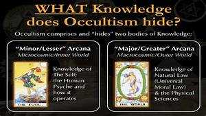 What Knowledge Does Occultism Hide  De