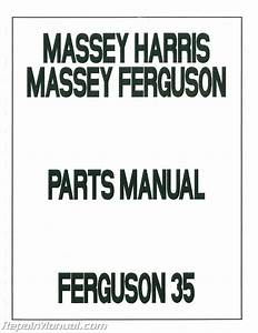 Massey Ferguson 35 Parts Diagram