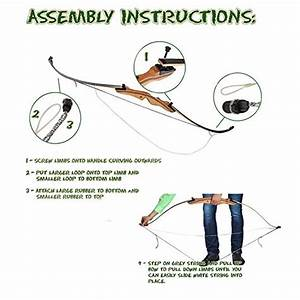 Keshes Takedown Hunting Recurve Bow Archery