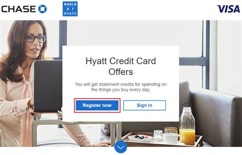 Compare card benefits and offers to get the information you need to apply for a visa credit card now. Chase Hyatt Visa Credit Card Offers (Live Now Through July 31)