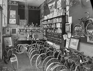 1910   U0026quot Cycle Shop Interior  Christchurch  New Zealand  U0026quot  B