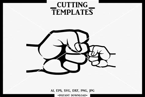 All files are provided for informational purposes only. Fist bump SVG, Mother and Son SVG, Mothers day, Cricut ...
