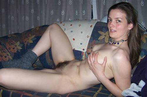 Amazing Hairy Milf In The At Home