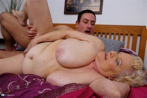 Perky Granny And Her Boytoy Cous Nubile Game With Her Vibrator Man