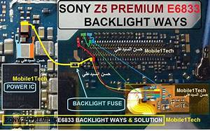 Sony Xperia Z5 Premium E6833 Lcd Display Light Ic Solution