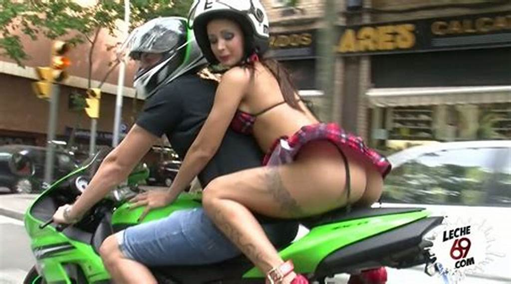#Pantless #Slut #In #Super #Short #Skirt #Susy #Gala #Is #Riding #A