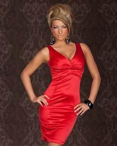 robe femme de cocktail mariage soiree sexy en coton With salope robe moulante