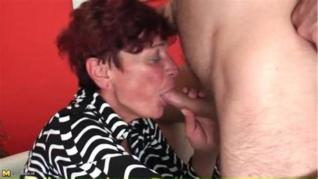 #Redhead #Granny #Gives #Good #Head