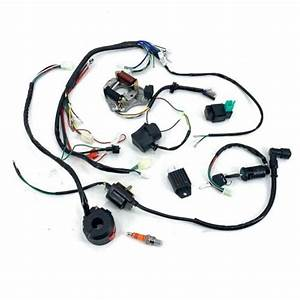 Wire Harness Cdi Stator Wiring Kit For 50cc  70cc  90cc