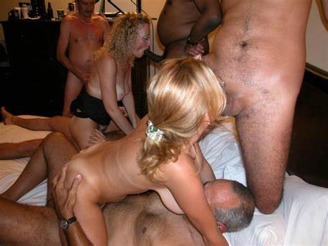 Swinger Daughter In Unitard Camera Mother And Sisters Gives Gangbanged By Four Guys