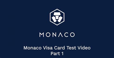 Monaco, which is raising funds to launch its prepaid visa card for spending bitcoin and erc20 tokens with fiat currency, has accrued around 26,000 eth since the token sale began may 18. Monaco Visa Card zum Greifen nah? - Coin-Update