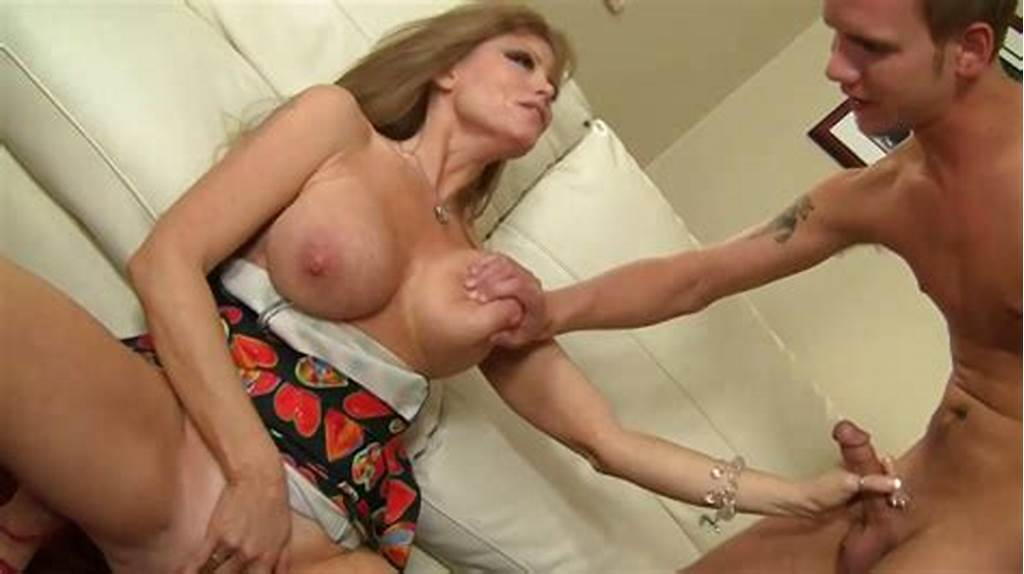 #Mature #Lady #Seduces #Young #Man