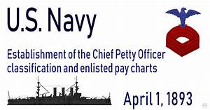 Navycs Pay Chart 1893 Navy Enlisted Pay Chart
