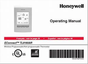 Honeywell Econnect Tl9160ar Manual