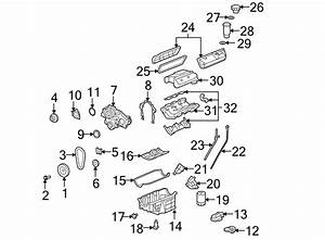 Chevrolet Impala Engine Intake Manifold  Upper   3 5 Liter
