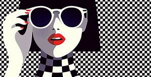 Minimalist Retro Illustrations : Malika Favre