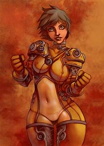 space suit girl by WacomZombie on DeviantArt