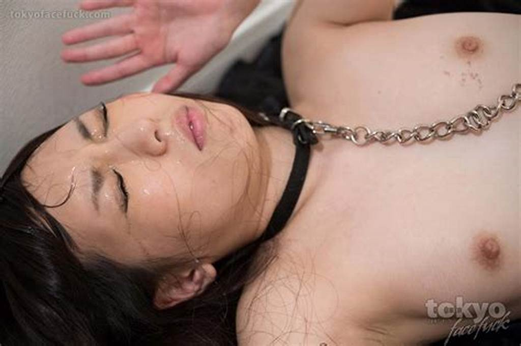 #Cute #Japanese #Teen #Collared #And #Face #Fucked
