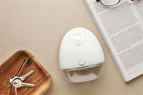 It can also be connected to a free app for additional features. Product Spotlight: Elvie Breast Pumps   Pumps for Mom