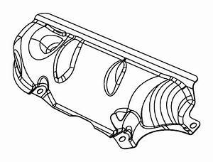 Dodge Durango Shield  Heat  Exhaust   Upper