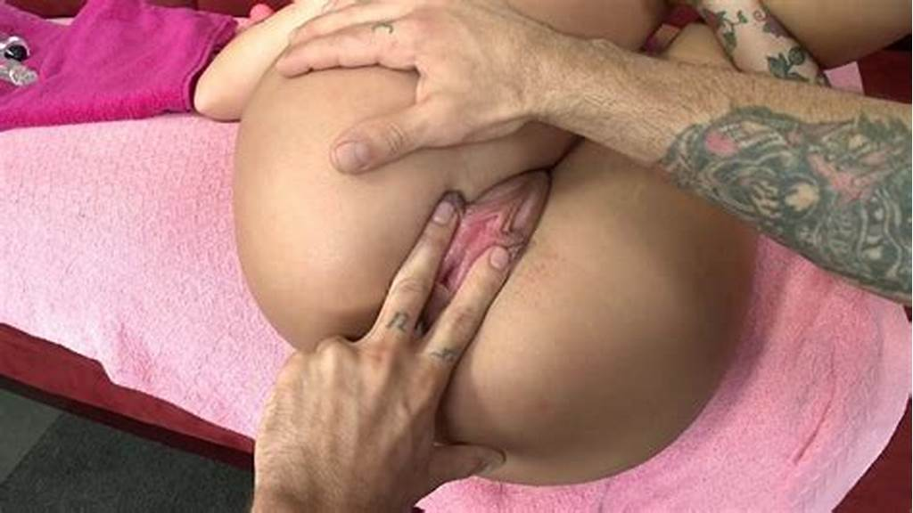 #Fingering #Pussy #While #Anal