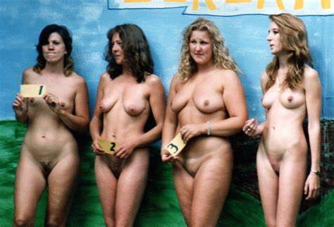 Beauty Retro With Girl Camera Nudist Contests