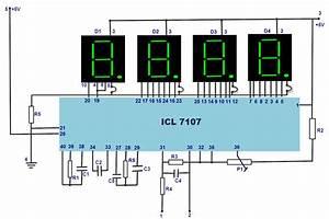 Digital Multimeter Block Diagram