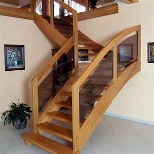 Escalier Quart Tournant Pas Cher : escalier sur mesure pas cher escalier sur mesure leroy ~ Premium-room.com Idées de Décoration