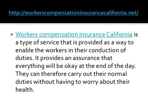 We can help by bringing you 3 california worker's comp insurance agents that will compete for your business. Workers compensation insurance California