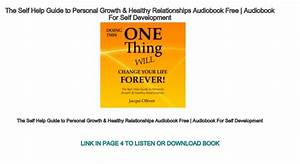 The Self Help Guide To Personal Growth  U0026 Healthy