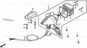 Honda Motorcycle 1982 Oem Parts Diagram For Taillight