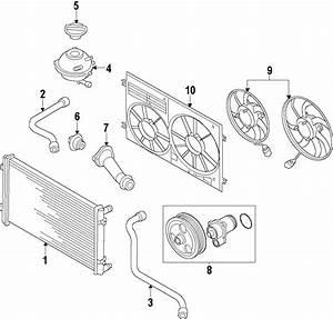 2014 Volkswagen Passat Engine Coolant Thermostat Housing