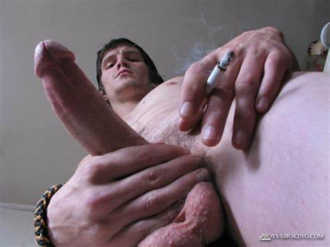 Smoking And Dick Drilled
