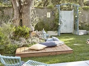 Jardin deco champetre jardin pinterest plus d39idees for Idee pour amenager son jardin