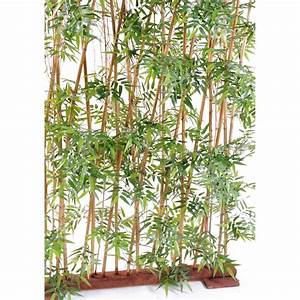 Haie Artificielle Pas Cher : bambou artificiel ~ Edinachiropracticcenter.com Idées de Décoration