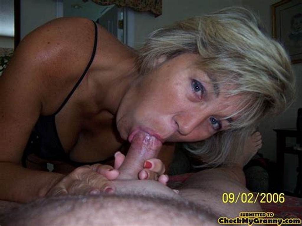 #Cum #Hungry #Blonde #Granny #In #Sexy #Black #Ling