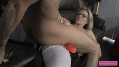 She Rides And Handjob Him Off Till He Cums Over Her Tity