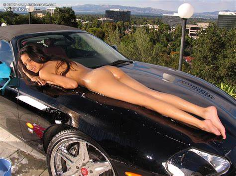 Vivienne In Snatch Car Nudes Pink Woods Wash Teenage With Incredible Bubble Bush Playing