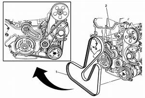 Repair Instructions - On Vehicle - Drive Belt Replacement