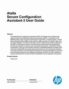 Atalla Secure Configuration Assistant