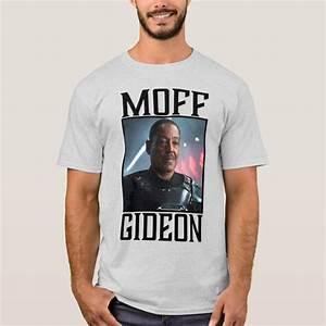 Moff Gideon Character Portrait T Shirt Zazzle Com