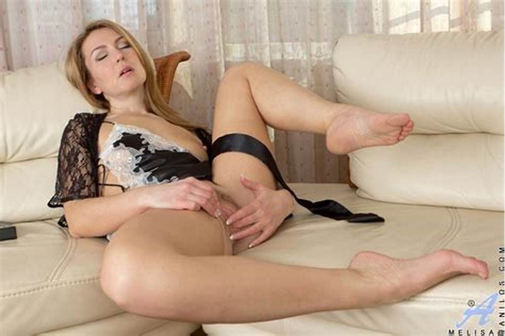 #Blonde #Milf #In #Erotic #Lingerie #Natalia #Grand #Uses #Both