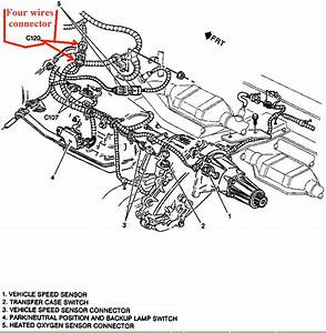 Chevy S10 Transfer Case Wiring Diagram : i am trying to follow tsb 76 43 01a to install the newer ~ A.2002-acura-tl-radio.info Haus und Dekorationen